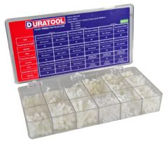 DURATOOL D00750  Lab Kit, Nylon Screw, Metric